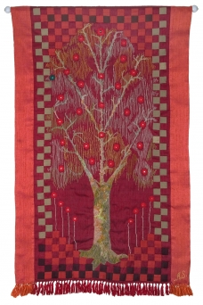 Tree of Life V - Namaz Series103 x 53cm (40 x 18
