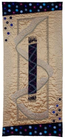 Blue Ascending114 x 49cm (45 x 19
